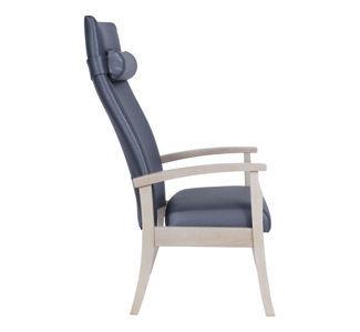 Sedia con braccioli / con schienale alto - Geo 1 PSGE01 - Teal