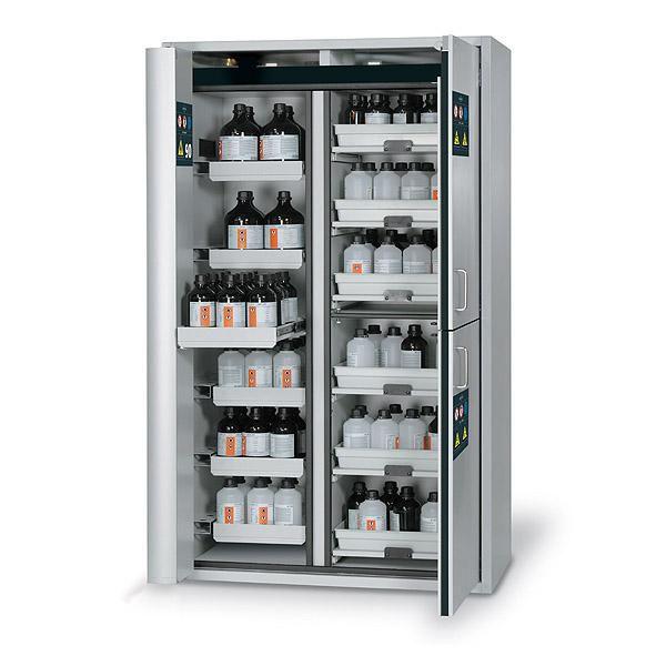 armadio di sicurezza / per prodotti chimici / per liquidi