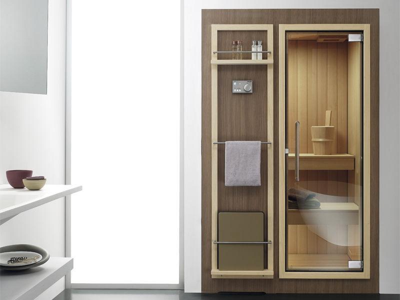 Sauna cabina / per pietre da sauna - Koko - Effegibi - Video