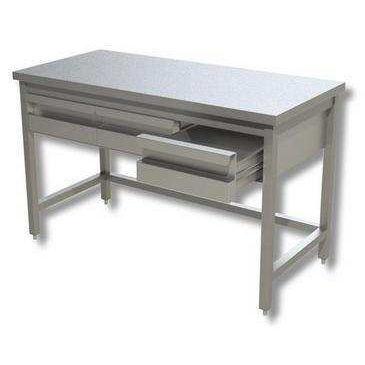 Banchi Da Lavoro Per Laboratorio Analisi : Tavolo da laboratorio da lavoro in acciaio inossidabile com