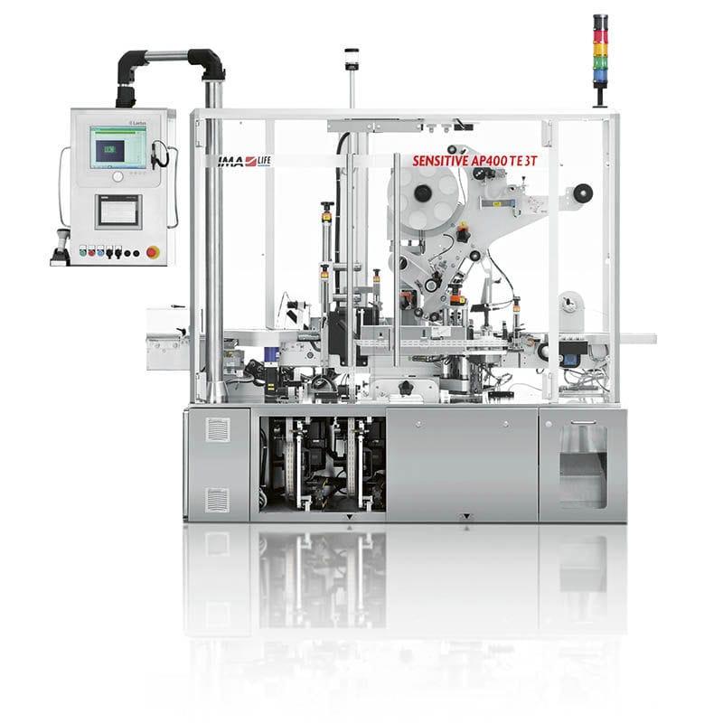 9e3e3511240 etichettatrice per cartoni   per l industria farmaceutica   automatica   in  linea - SENSITIVE AP400 SERIES