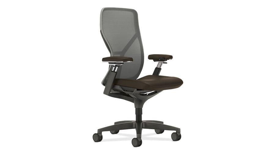 Sedie Da Ufficio Con Rotelle : Sedia da ufficio con braccioli con rotelle con schienale