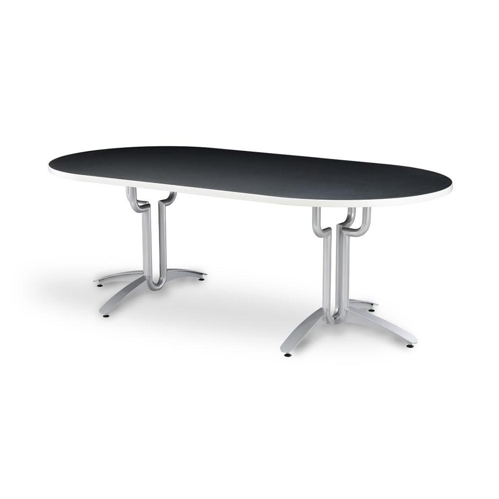 Tavolo da lavoro / per sala riunioni / rettangolare / ovale - Vela ...