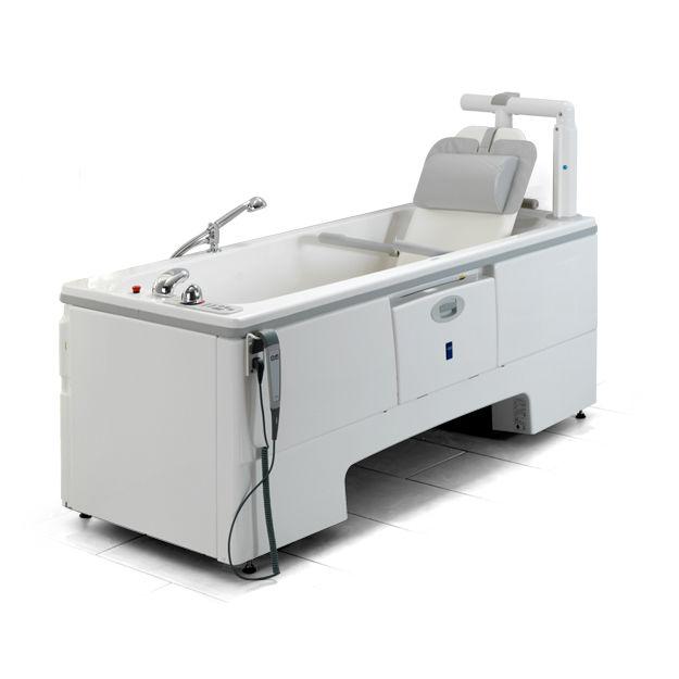 vasca da bagno ospedaliera elettrica con sedile elevatore malibu