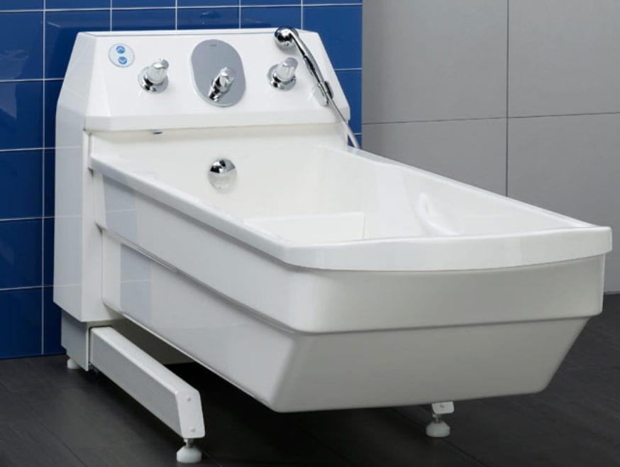 Vasca Da Bagno Altezza Standard : Vasca da bagno ospedaliera elettrica regolabile in altezza hi