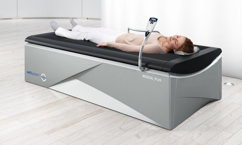 Letto da massaggio ad acqua a getto d acqua wellsystem medical