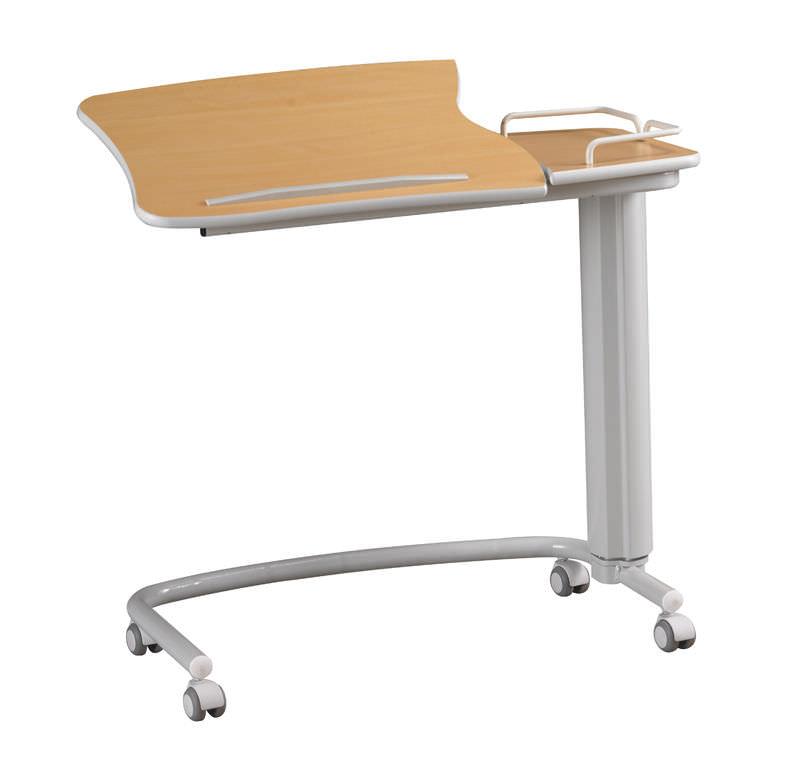 tavolino servitore ad altezza variabile / inclinabile / con ... - Tavolino Per Letto Con Rotelle