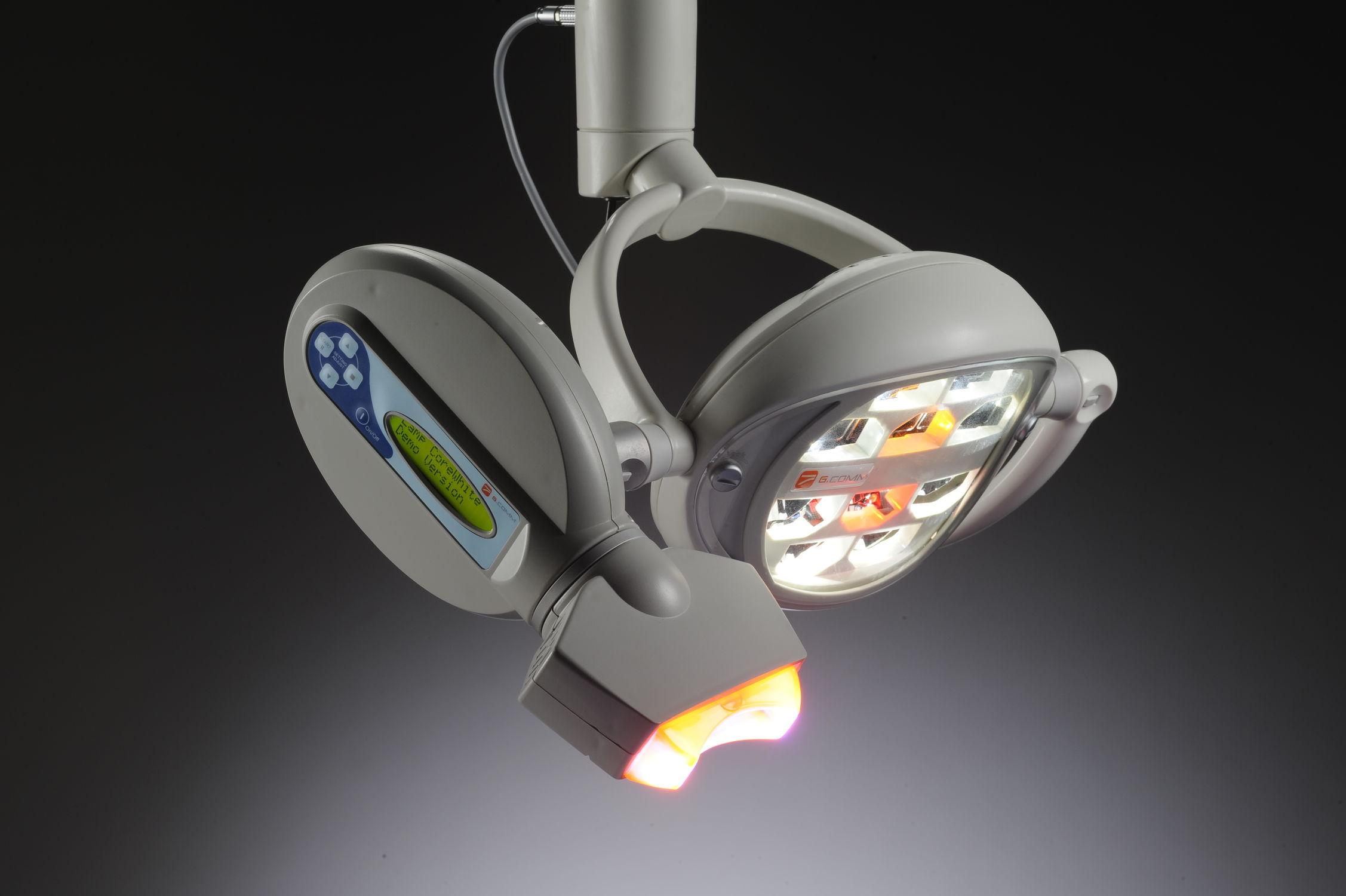 Lampada scialitica odontoiatrica a led polaris g.comm s.r.l. video