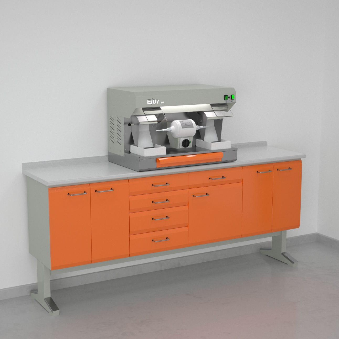 Banchi da lavoro per laboratorio odontotecnico laboratorio