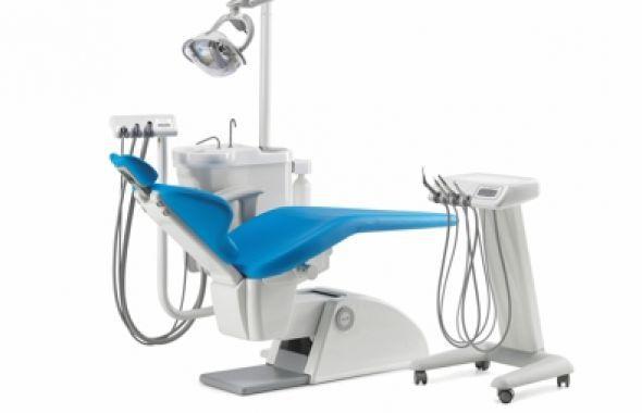 Riunito Odontoiatrico Con Illuminazione Tempo 9 Elx Kart
