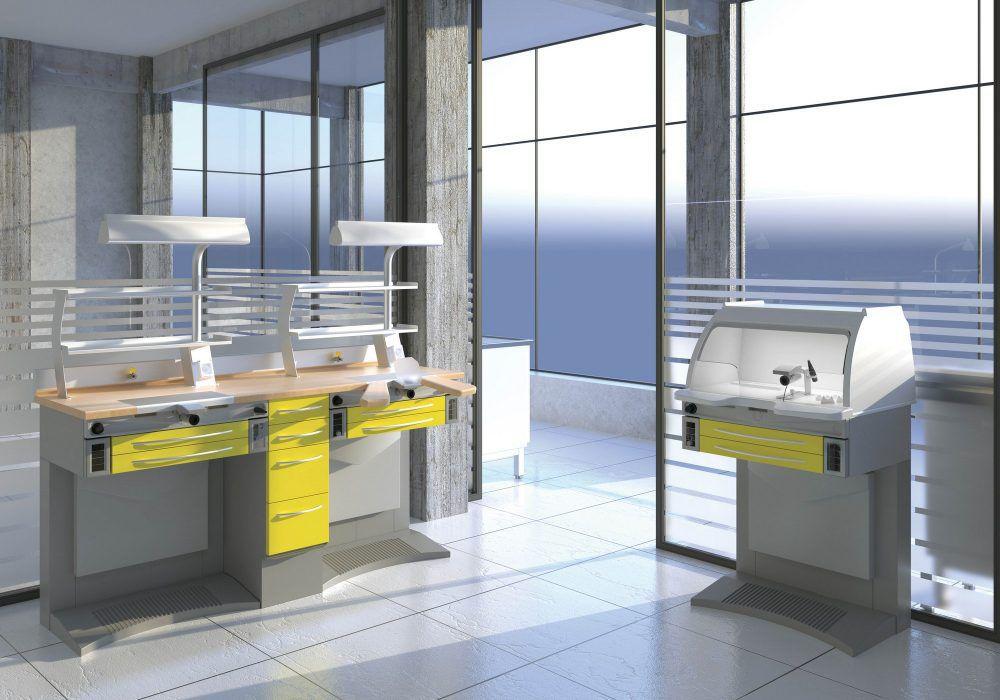 Banchi Da Lavoro Per Odontotecnici Nuovi : Laboratorio odontotecnico postazioni di lavoro per laboratorio