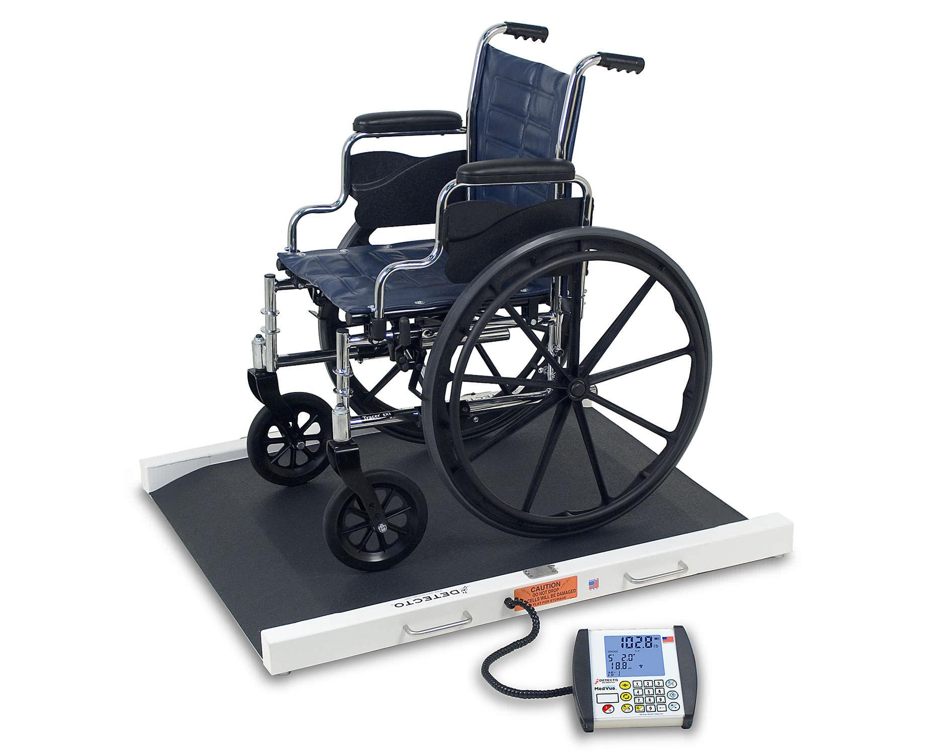Sedie A Rotelle Per Scale : Piattaforma di pesatura elettronica per sedie a rotelle con