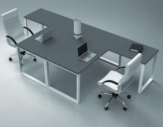 Tavolo Di Ufficio : Tavolo da ufficio a forma di t o series industrial laborum