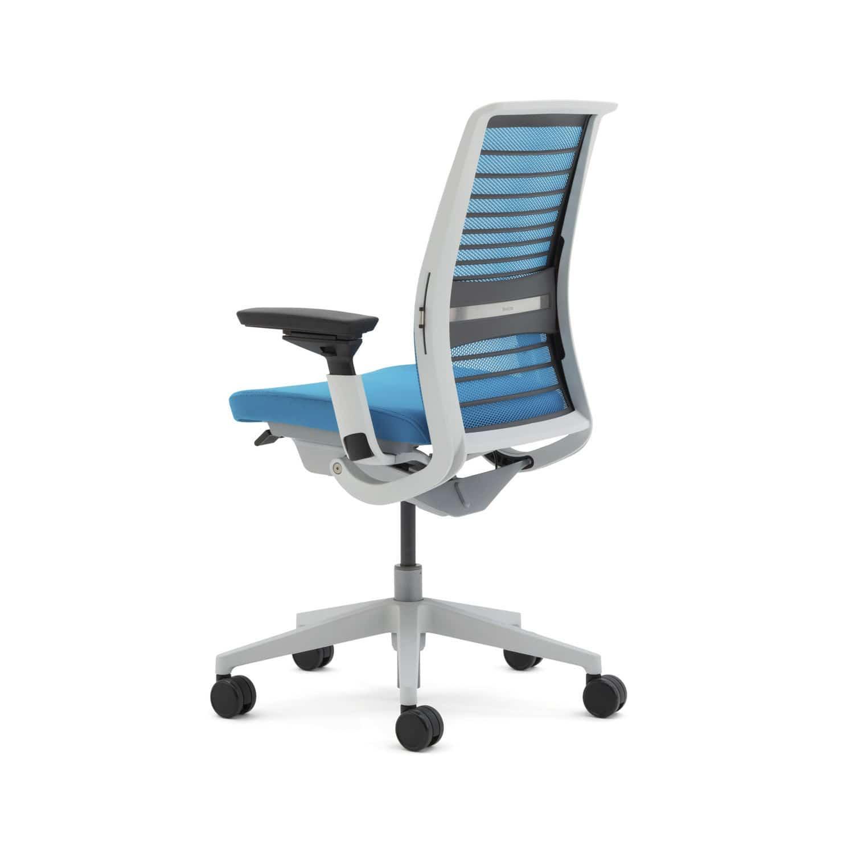 Sedia da ufficio / con braccioli / con rotelle - Think - Nurture ...