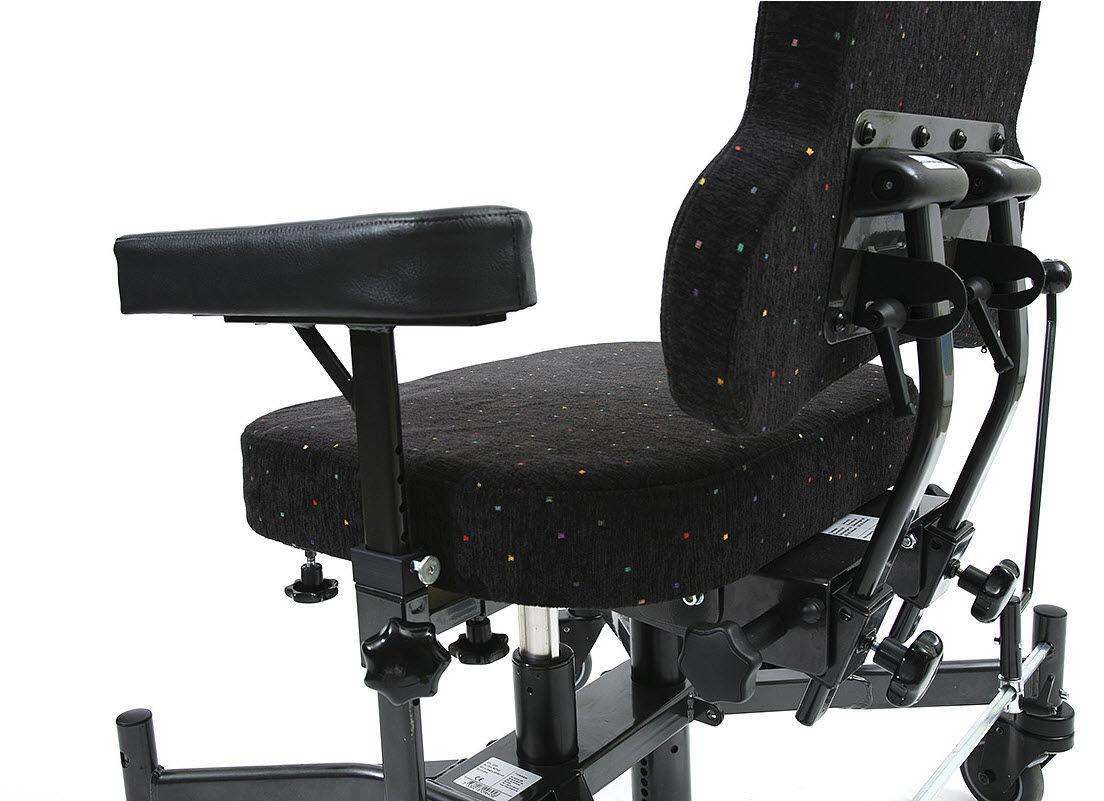 Sedie Da Ufficio Con Rotelle : Sedia da ufficio con braccioli con rotelle bariatrica
