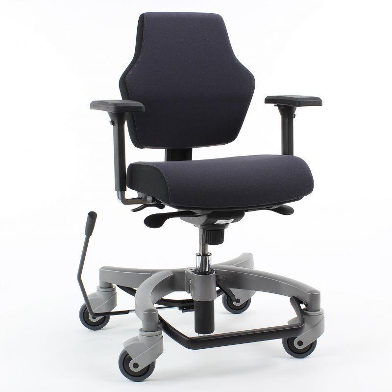 Sedia da ufficio / con braccioli / con rotelle / ad altezza ...