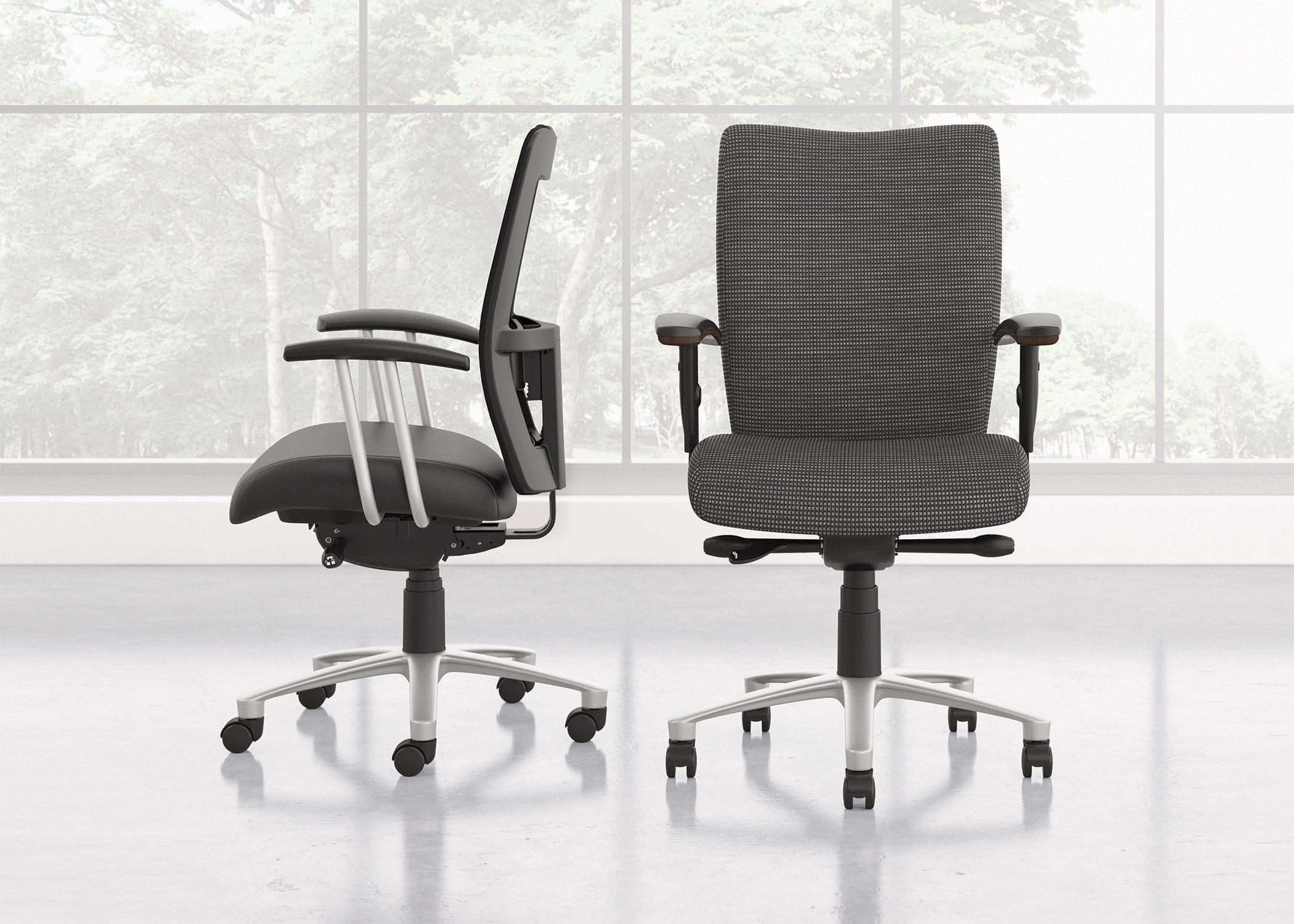 Sedie Da Ufficio Con Rotelle : Sedia da ufficio con braccioli con rotelle mix it national