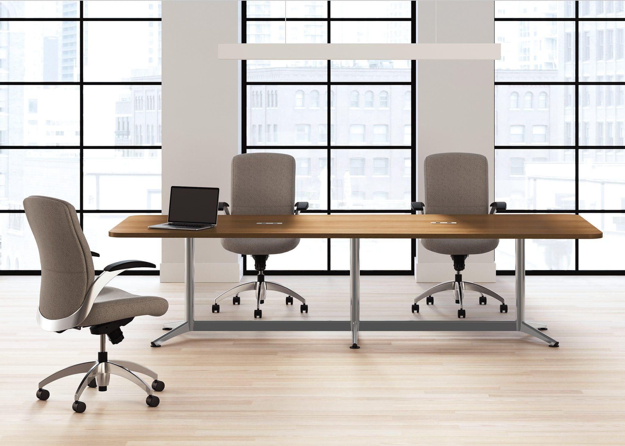 Tavolo da pranzo / per sala riunioni / rettangolare / rotondo ...