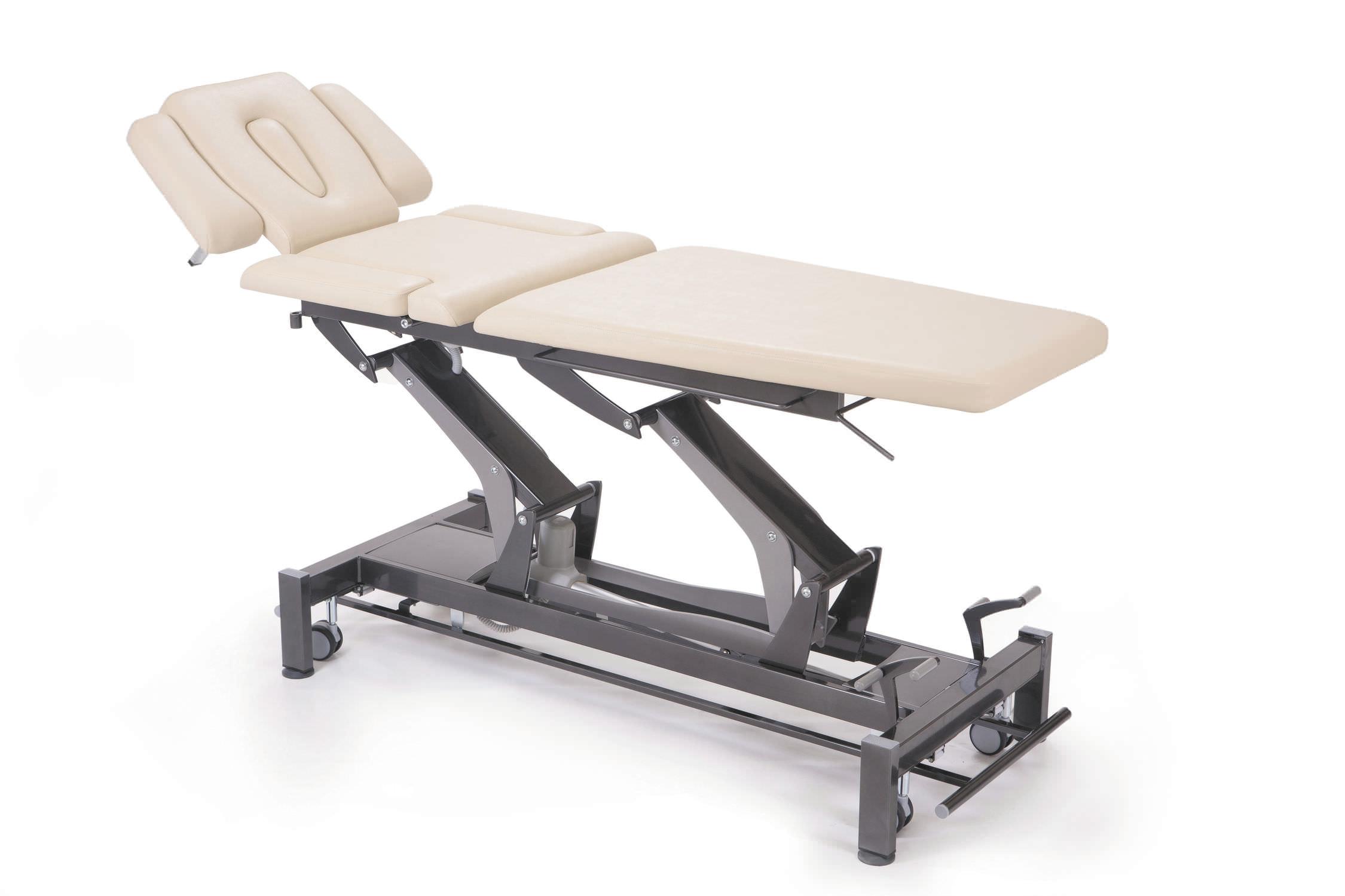 Lettino Da Massaggio Elettrico.Lettino Da Massaggio Elettrico Su Rotelle Regolabile In Altezza