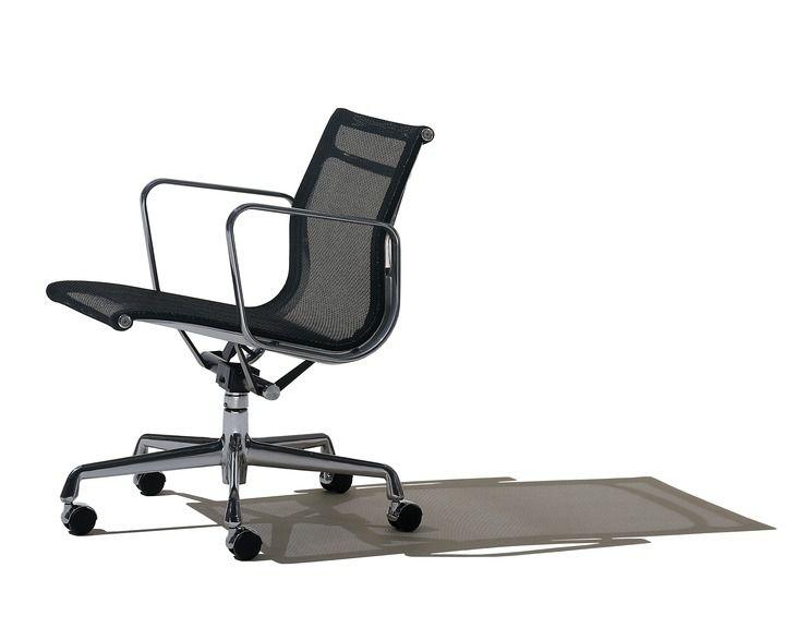 Sedie Ufficio Eames : Sedia da ufficio con schienale alto con braccioli eames
