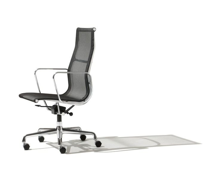 Sedie Ufficio Eames : Sedie miller sedia da ufficio con schienale alto con braccioli