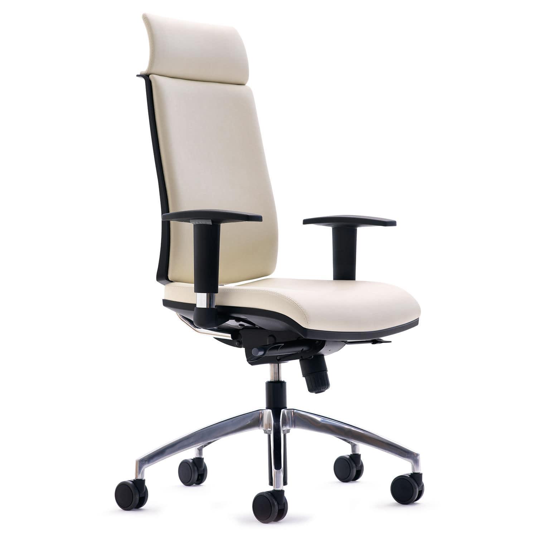 Sedia da ufficio / con schienale alto / con rotelle / con braccioli ...