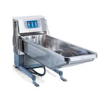 Vasca da bagno ospedaliera elettrica / per grandi ustionati / regolabile in altezza