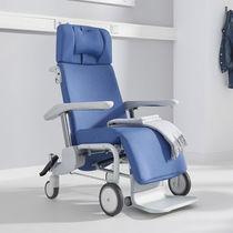Sedia portantina per pazienti con schienale regolabile
