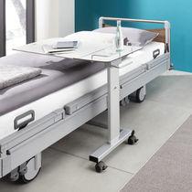 Tavolino servitore ad altezza variabile / inclinabile / con rotelle