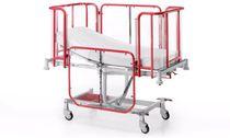 Culla pediatrica con rotelle / Trendelenburg / anti-Trendelenburg / metallo