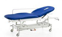 Lettino da visita pneumatico / ad altezza regolabile / con schienale regolabile / con rotelle