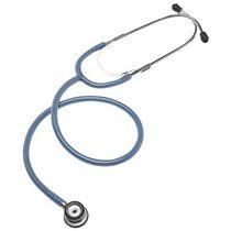 Stetoscopio pediatrico / a padiglione doppio / in alluminio