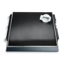 Piattaforma di pesatura elettronica / per sedie a rotelle / per dialisi / con display digitale