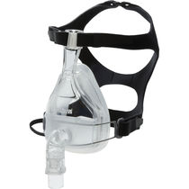 Maschera per ventilazione artificiale / facciale / in silicone