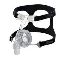Maschera per ventilazione artificiale / nasale / in silicone