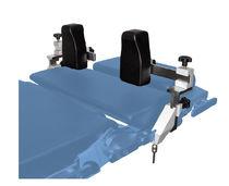 Poggiaspalla / per tavolo operatorio / ad altezza variabile / regolabile