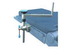 Appoggio laterale / per tavolo operatorio / in acciaio inossidabile / ad altezza variabile