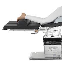 Cuscino di posizionamento / per tavolo operatorio / semicilindrico