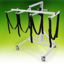 Sollevapersone idraulico / con rotelle / mortuario
