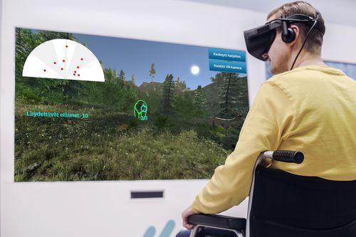 sistema di rieducazione virtuale con giochi seri / con sistema di realtà virtuale