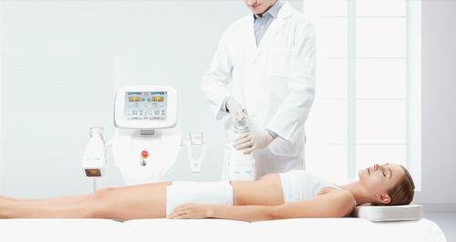sistema di ringiovanimento cutaneo lipolisi ad ultrasuoni / su carrello