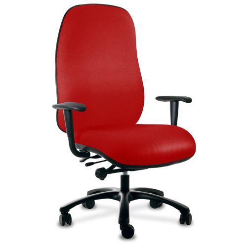 Sedia da ufficio / con braccioli / con rotelle / con schienale alto ...