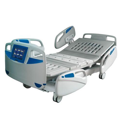 letto per terapia intensiva / elettrico / ad altezza regolabile / con sistema di pesatura