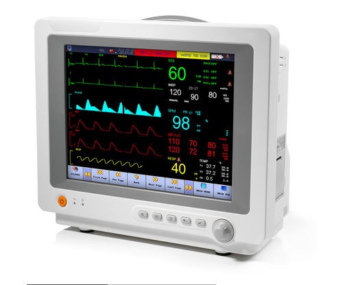 monitor multiparametrico ECG / RESP / TEMP / CO2