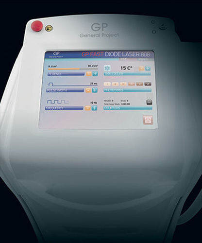 Laser per epilazione / a diodo / su carrello GP FAST General Project