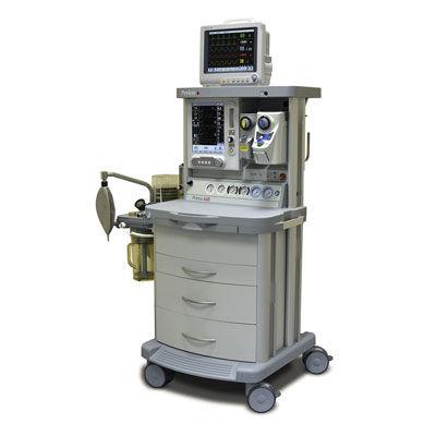 sistema per anestesia su carrello / con monitoraggio respiratorio / con miscelatore di gas elettronico