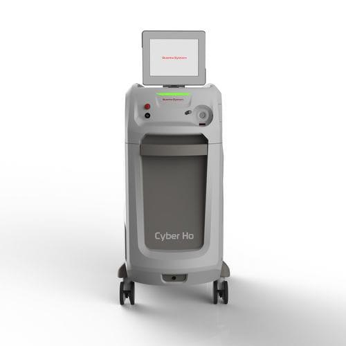 laser per litotripsia / per enucleazione della prostata / a olmio / su carrello