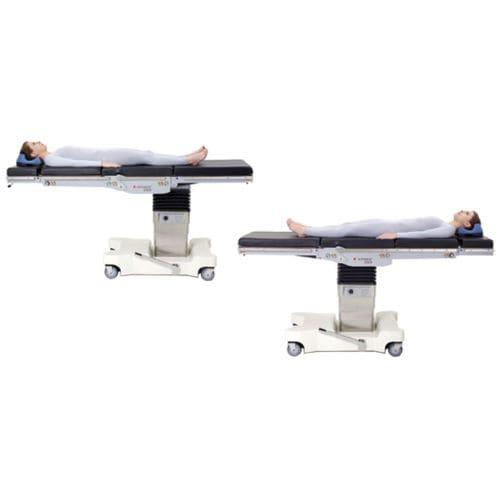 tavolo operatorio universale / elettroidraulico / ad altezza regolabile / con rotelle