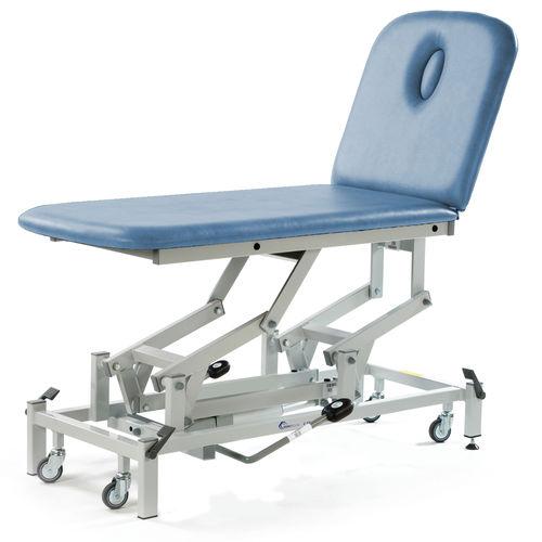 lettino da massaggio elettrico / idraulico / regolabile in altezza / su rotelle