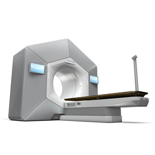 Acceleratore lineare di particelle radioterapia con modulazione di intensità / radioterapia guidata dalle immagini / radioterapia tramite arcoterapia volumetrica / con tavolo di posizionamento robotizzato Halcyon™ Varian Oncology
